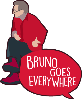Bruno Goes Everywhere